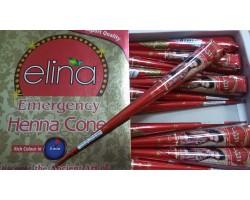 Красная хна для мехенди Elina, 40г Индия