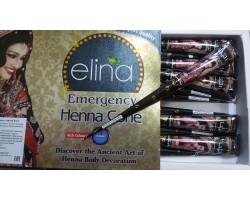 Черная хна для мехенди Elina, 40г Индия