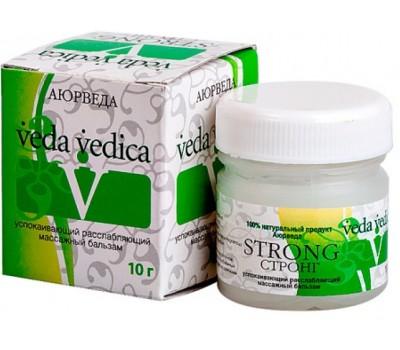 Бальзам от простуды и головной боли СТРОНГ, 10г Veda Vedica