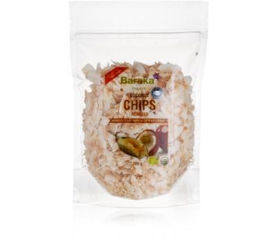 Кокосовые чипсы обжаренные, Органик 300 гр