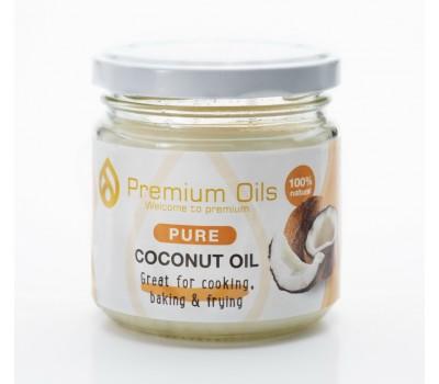 Масло кокосовое рафинированное 200мл Premium Oils