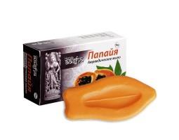 Аюрведическое мыло Папайя с витамином Е Ааша Хербалс 75г