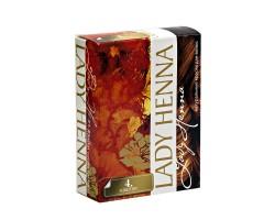 Краска для волос на основе хны каштан Lady Henna, 6 Х 10 г