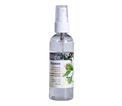 Натуральная цветочная вода для лица Жасмин расслабляющая и смягчающая Ааша Хербалс100мл