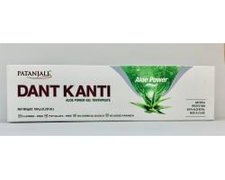 Зубная паста Дант Канти Алоэ Вера (Dant Kanti Natural Aloe Power), Patanjali 150г