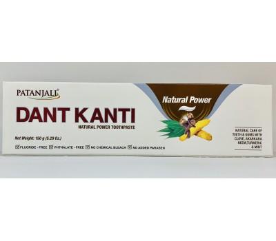 Зубная паста Дант Канти Натуральный (Dant Kanti Natural Power), Patanjali 150г