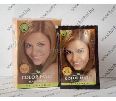 Краска для волос Color Mate Hair Color (тон 9.4, золотисто-коричневый) 1пакетик, 15 г