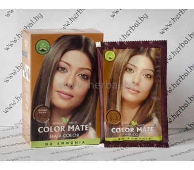 Краска для волос Color Mate Hair Color (тон 9.2, коричневый) 5*15г, 75 г