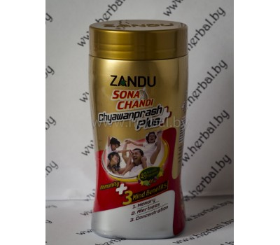 "Чаванпраш Zandu Sona Chandi ""Plus"" 450 г"