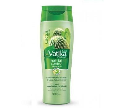 Шампунь Ватика против выпадения волос  (экстракт кактуса+чеснок+руккола) Vatika, Dabur 200мл