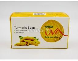 Мыло с Куркумой Turmeric soap, Vasu 125 г