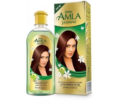 Масло для волос Амла с жасмином (Jasmime Hair Oil), Dabur 200 мл