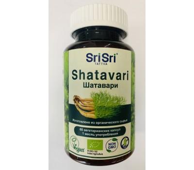 Шатавари Shatavari Шри Шри, Sri Sri Tattva 60 капсул