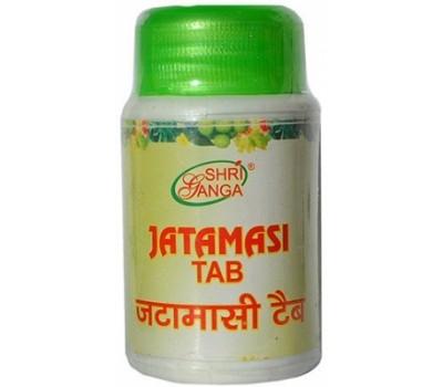 Джатамаси Jatamasi Tab, 60 таб Shri Ganga