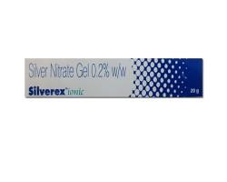 Гель Сильверекс с ионами серебра от ожогов регенерирующий, (Silver Nitrate Gel 0.2 % Silverex), 20 г