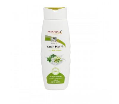 Шампунь Кеш Канти С Молочным Протеином Kesh Kanti Milk Protein Shampoo, Patanjali, 200 мл