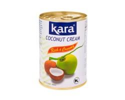Кокосовые сливки-крем в жестяной банке, Kara 400 мл