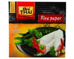 Бумага рисовая круглая 16см, REAL THAI 100 г