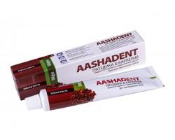 Зубная паста AASHADENT Гвоздика и Барлерия 100г