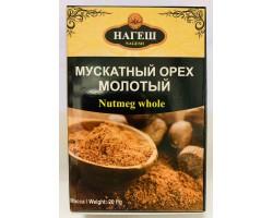 Мускатный орех целый Nutmeg whole Нагеш, 20 г Nagesh