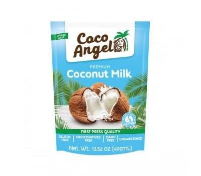 Кокосовое молоко Коко Ангел (напиток сокосодержащий на основе мякоти кокоса), Koko Angel 400 мл