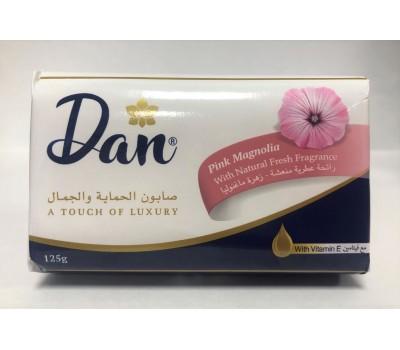 Мыло туалетное твердое с розовой магнолией (Pink Magnolia), Dan 125г