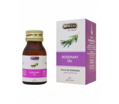 Масло Розмарина, Rosemary oil 30 мл, HEMANI