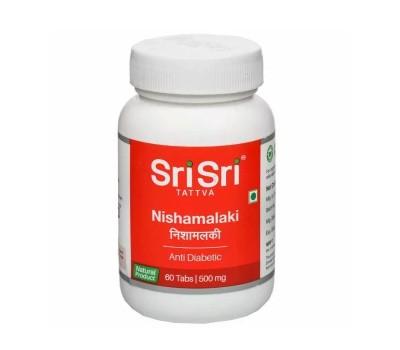 Нишамалаки Nishamalaki, 60 таб Sri Sri