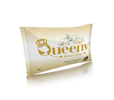Мыло Туалетное Твердое Beauty Soap, Queeny 75г