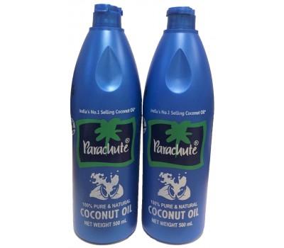 Кокосовое масло Parachute (нерафинированное) 500 мл 2 ШТ