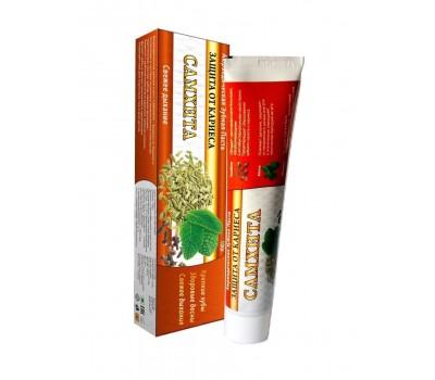 Зубная паста Защита от кариеса, Самхита 100г