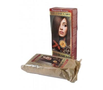 Аюрведический Сухой шампунь для волос Шикакай, Day 2 Day Care 100г