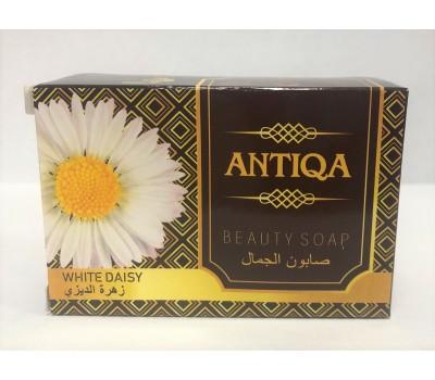 Мыло туалетное твердое с белой маргариткой (White Daisy), Antiqa 80г