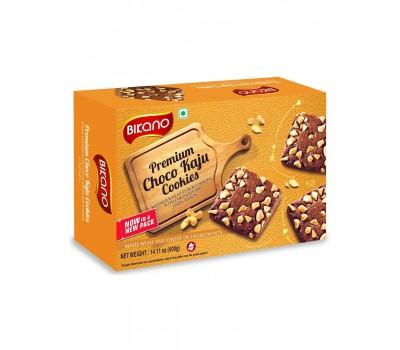 Печенье шоколадное с кешью (CHOKO KAJU), Bikano 400г