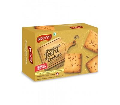 Печенье с зирой (Кумин) (JEERA), Bikano 400г