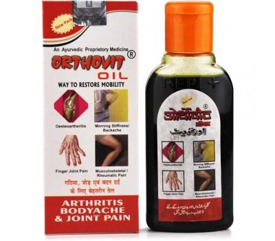 Масло Ортовит, при артрите и болях в суставах (Orthovit Oil Arthritis Bodyache & Joint Pain), 60 мл REPL Pharma