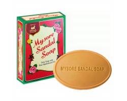 Аюрведическое мыло с маслом сандала Mysore Sandal Soap, Karnataka Soaps 75г