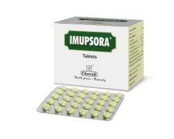 Таблетки от псориаза Imupsora tab (Имупсора Чарак), 30 таб 1пластинка Charak