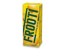 ФРУТИ Напиток (сок) из мякоти манго с трубочкой (FROOTI), PARLE AGRO 200мл