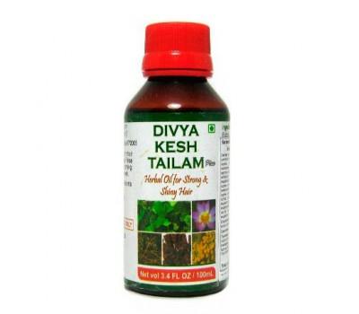 Масло для волос от выпадения Кеш Тайла Дивья (Kesh Taila Divya), Patanjali 100 мл
