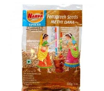 Семена Пажитника Fenugreek Seeds, Narpa 100 г