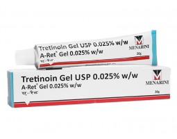 Гель Retin-A Третиноин 0.025% (Tretinoin Gel USP A-Ret Gel), 20 г Menarini