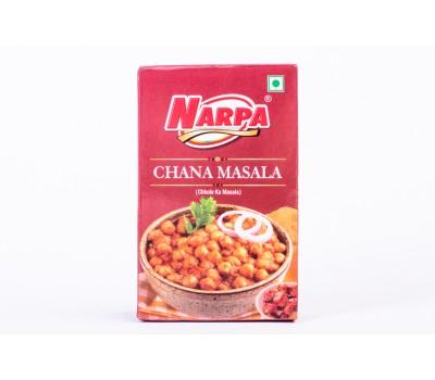 """Приправа для гороха и бобовых. Смесь специй """"Chana masala"""", NARPA 50г"""