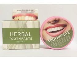 Травяная зубная паста с экстрактом гвоздики Clove, отбеливающая, Herbal Toothpaste, 25 г Praileela