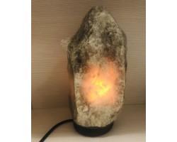 Солевая лампа Скала Черная, HIMALAYA  2-3 кг