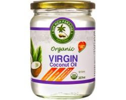 Кокосовое масло Пищевое Sun Rich Paradise, в Стеклянной банке (Organic Virgin Coconut Oil) нерафинированное  500 мл