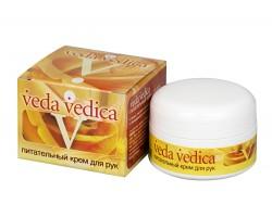 Крем для рук питательный обогащенный витамином Е, Veda Vedica 50 г
