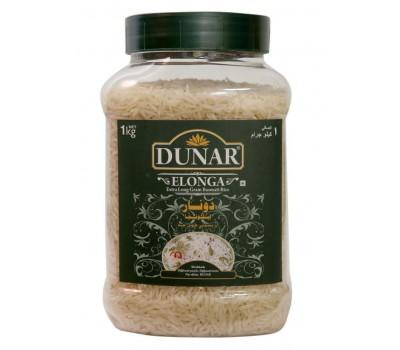 """Индийский рис Dunar Басмати """"Элонга""""1 кг """"Elonga, длиннозерный шлифованный"""