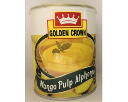 "МЯКОТЬ МАНГО Альфансо Mango Pulp Alphonso ""GOLDEN CROWN"", 840 Г"
