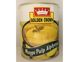 "МЯКОТЬ МАНГО Альфансо Mango Pulp Alphonso ""GOLDEN CROWN"", 840г"